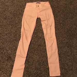 Peach Flying Monkey Jeans